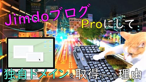 jimdo-proにして独自ドメインを取得すべき理由