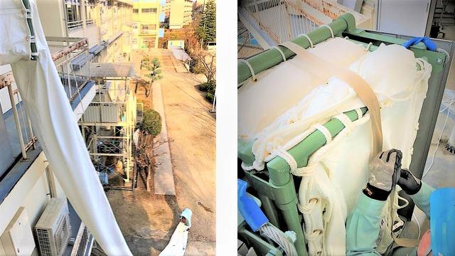 斜降式救助袋 使用方法