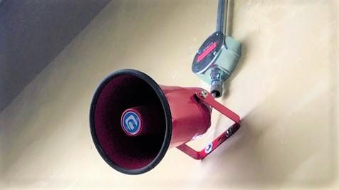 音声警報装置