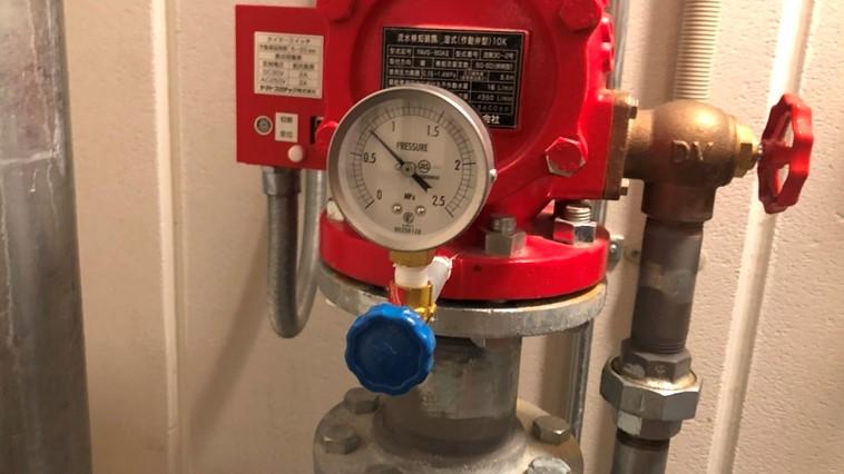 圧力計(1次側)