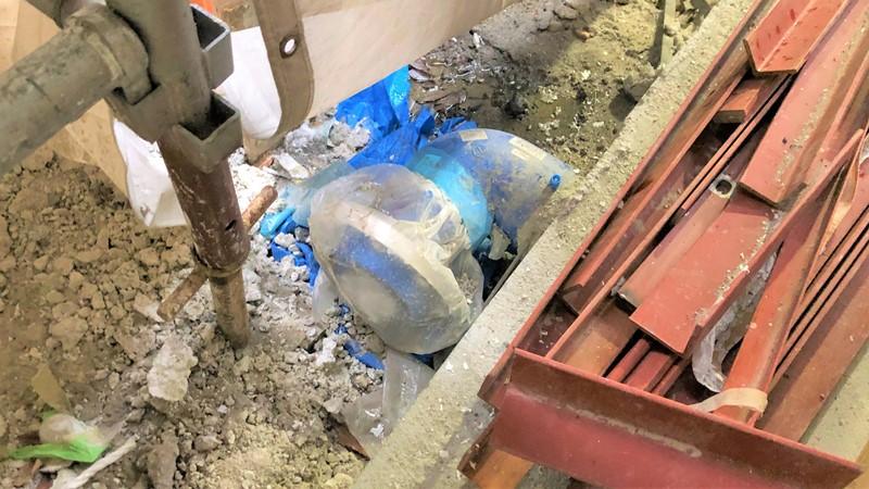 地中埋設合成樹脂管 フランジ