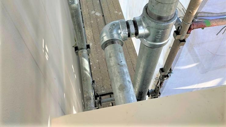 連結送水管 65A 配管