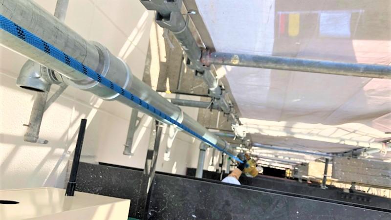 連結送水管 上階