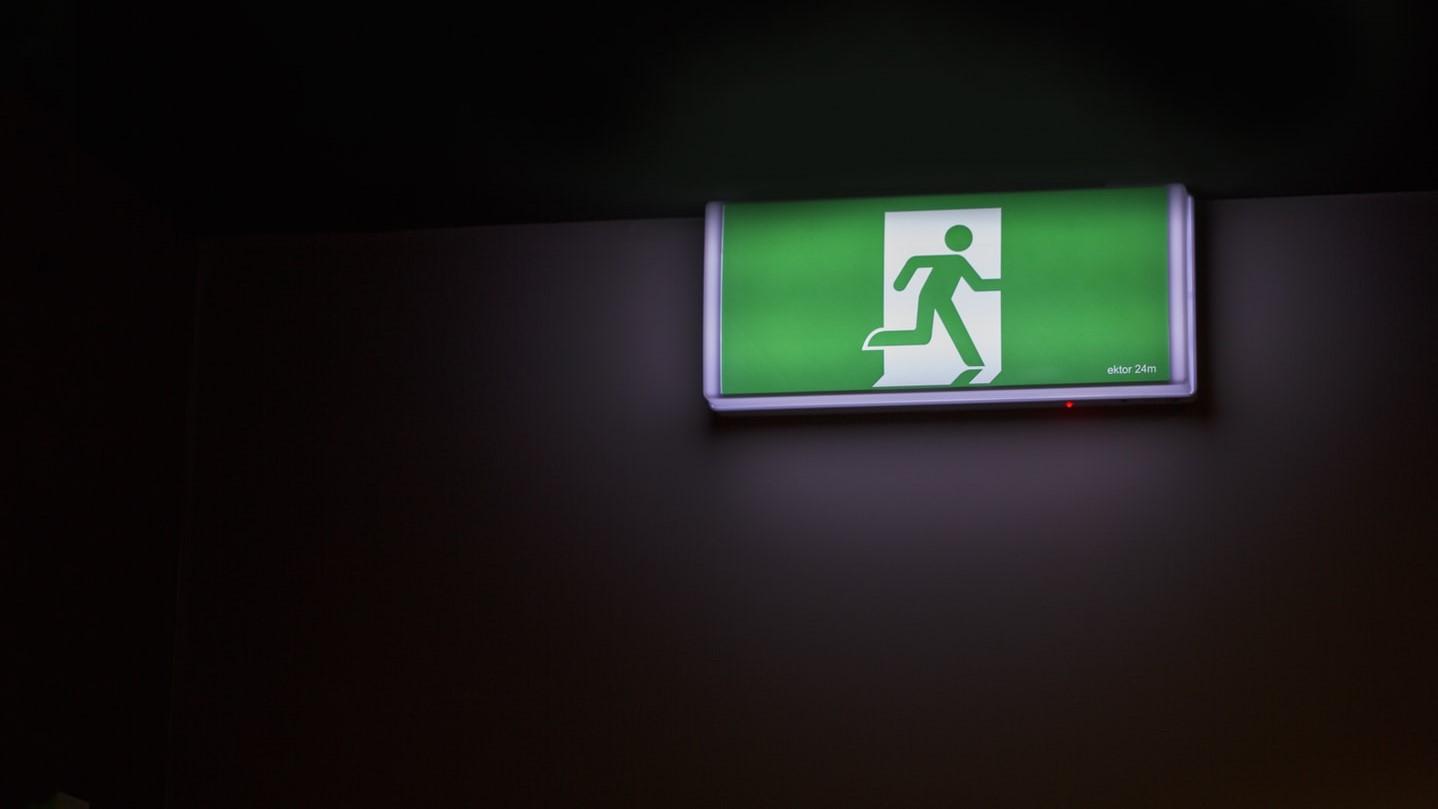 誘導灯 設置届