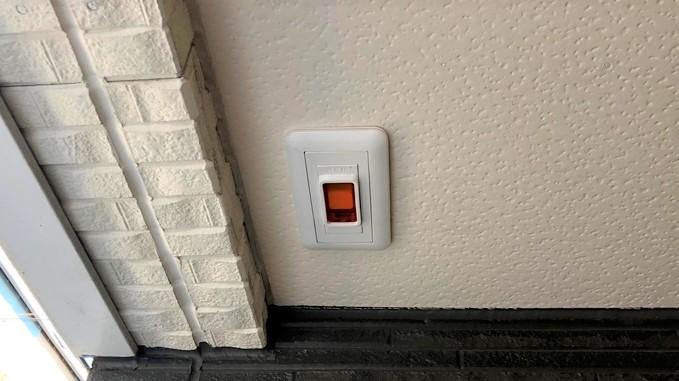 自動ドア 非常開放スイッチ