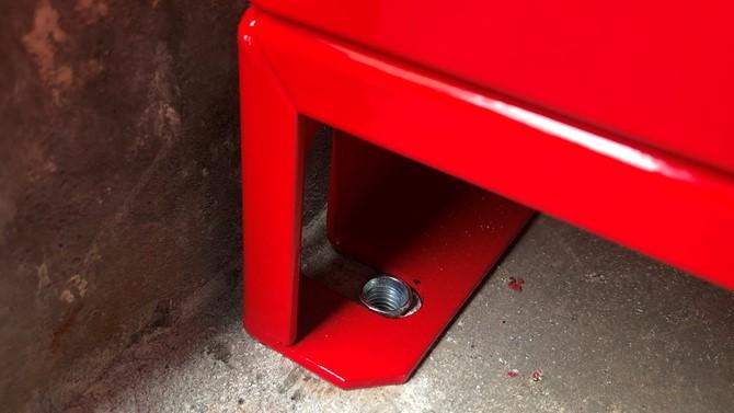 打込アンカー 移動式粉末消火設備