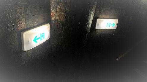 最終の避難口までの避難経路に設けられる通路誘導灯 (1)