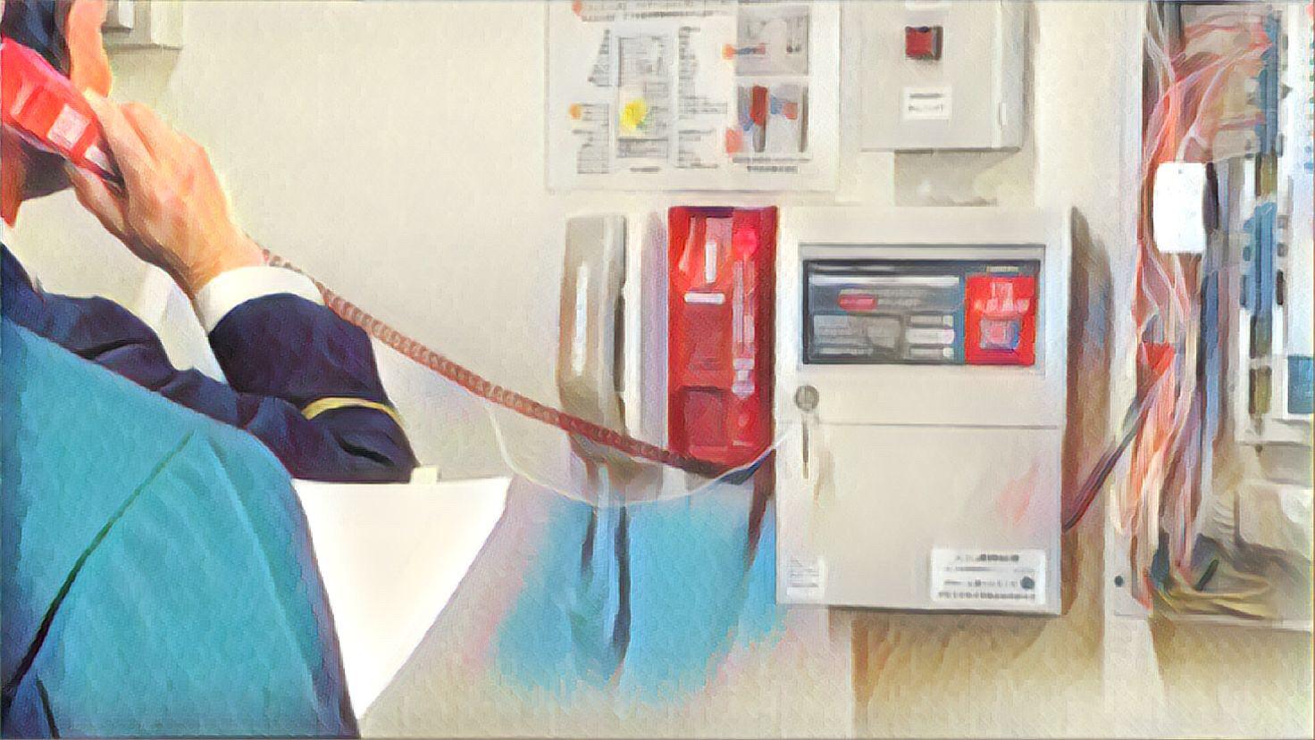 火災通報装置 消防検査