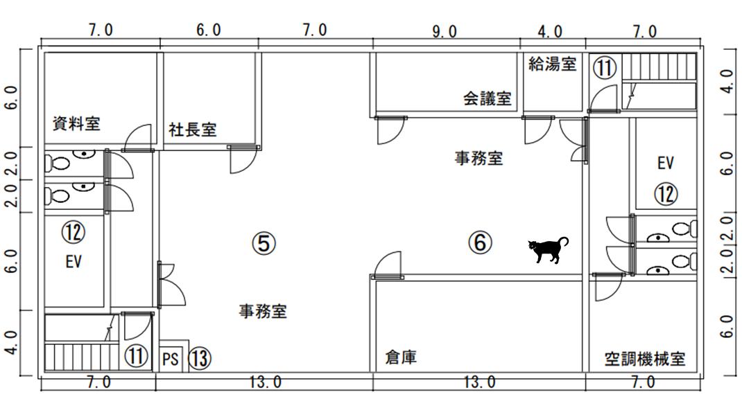 設備 平面図