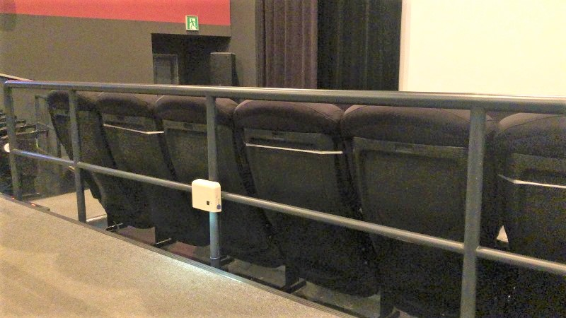 映画館 いす