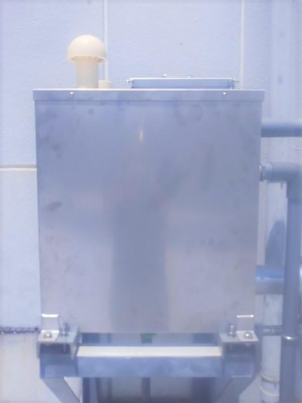 補給水槽の交換工事後