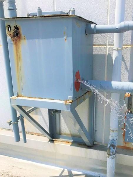 補給水槽 劣化