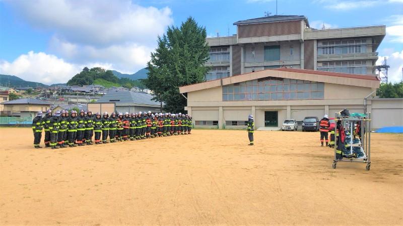 消防学校 生徒